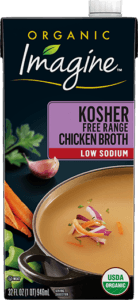 Low Sodium Kosher Chicken Broth