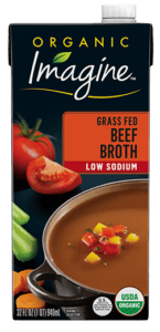 Low Sodium Beef Flavored Broth