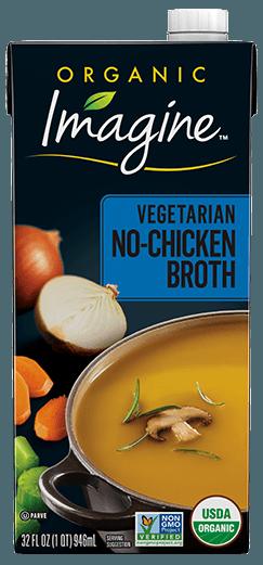 Vegetarian No-Chicken Broth